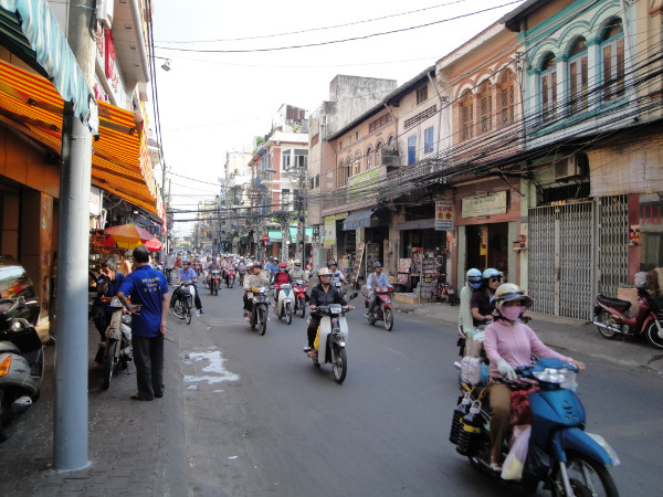 Protecting Traditional Vietnamese Shop-Houses in Cholon, Ho Chi Minh City